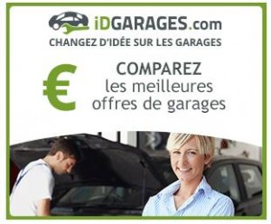 Comparateur de garage auto