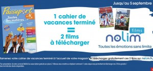 cahier de vacances films gratuits Carrefour