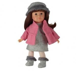 poupée Mademoiselle Corolle Coquette Brune à seulement 36,72 euros port inclus