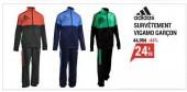 survêtement Adidas 6-16 ans à moins de 25 euro