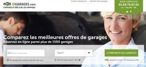vérifiez le prix des garages