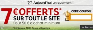 7 euros offerts Priceminister