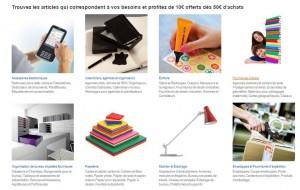 Fournitures scolaires Amazon