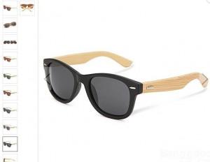6 31 euros les lunettes de soleil avec branches en bois de bambou diff rents mod les. Black Bedroom Furniture Sets. Home Design Ideas