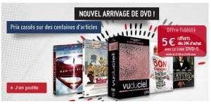 code promo Chapitre DVD