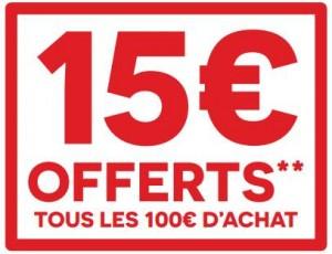 bon plan darty 15 offerts par tranche de 100 d achats. Black Bedroom Furniture Sets. Home Design Ideas