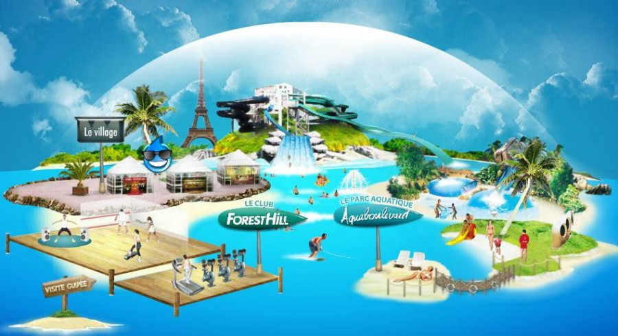 Aquaboulevard archives les bons plans malins for Piscine aquaboulevard