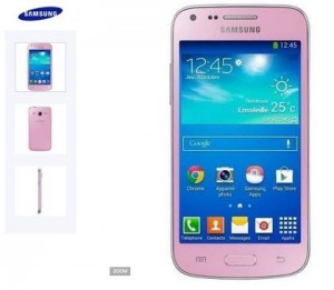 smartphone Galaxy Core Plus Rose Samsung rembourse Cdiscount