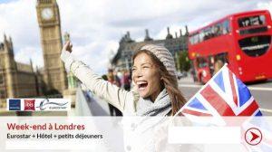 vente flash séjour Londres de Carrefour Voyages
