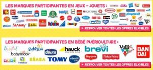 10 € offerts tous les 50€ sur les jeux, jouets et puericulture Cdiscount