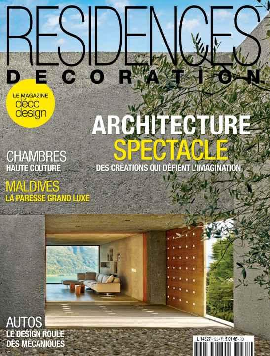 Moins de 5 euros l abonnement au magazine r sidences - Magazine de decoration interieure gratuit ...