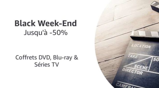 Black Week-End Coffrets DVD, Blu-ray & Séries TV AMAZON
