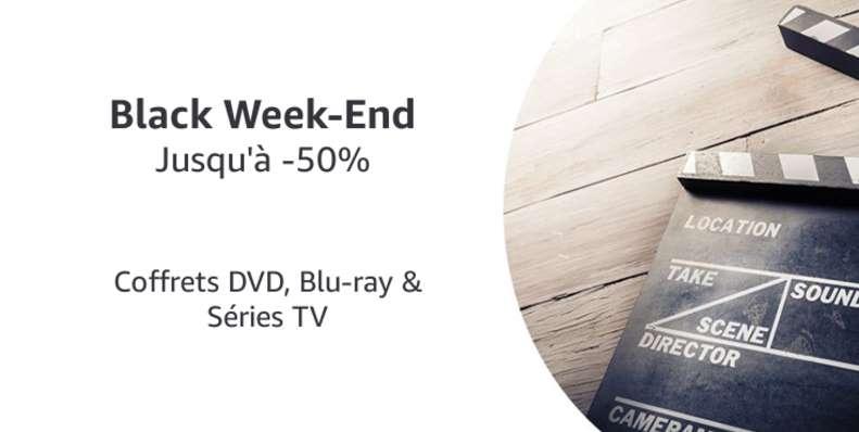Black Week-End Coffrets DVD, Blu-ray & Séries TV AMAZON