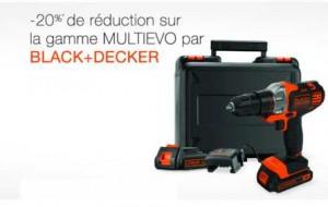 Black et Decker perceuse sans fil multi-outil