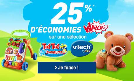 Bon plan Vtech Baby Auchan