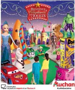 Catalogue Jouets Auchan Noël 2015