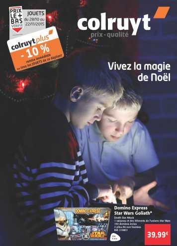 Catalogue jouets Colruyt Noel 2015