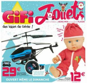 Catalogue jouets GIFI Noel 2015