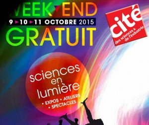 Cite des sciences gratuite