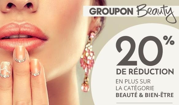 Code promo Beaute Sante Groupon