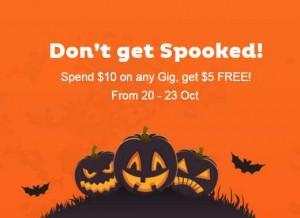 Fiverr : 5$ offerts