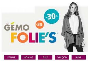 Gemo Folies promotion