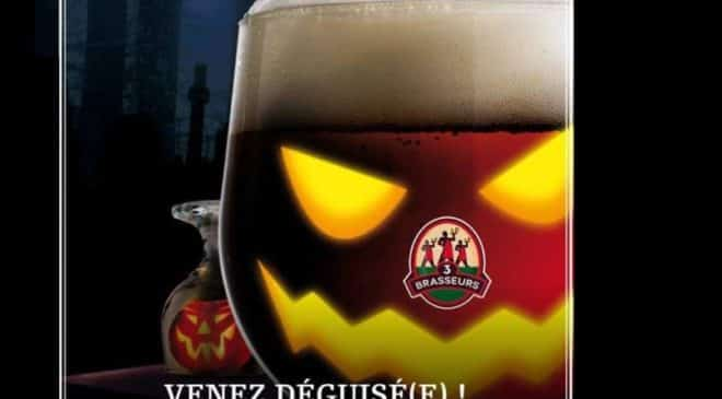 Halloween Les 3 Brasseurs