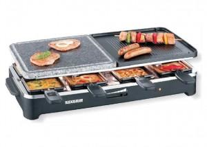 appareil à Raclette multifonctions Severin à moins de 40 euros