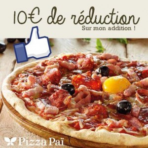 coupon pizza pa 10 euros de remises en restaurant. Black Bedroom Furniture Sets. Home Design Ideas