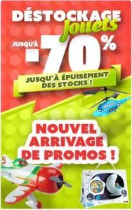 destockage de jouets d'Auchan