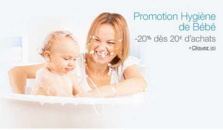 hygiène de bébé promotion Amazon