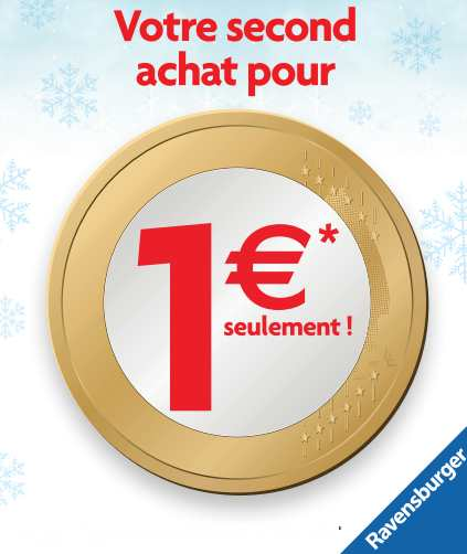 le second à 1 euro Ravensburger Noel 2015