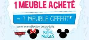 meuble Disney offert cdiscount