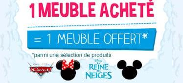 Bon plan 1 meuble disney achet 1 gratuit sur cdiscount for Bon plan meuble gratuit