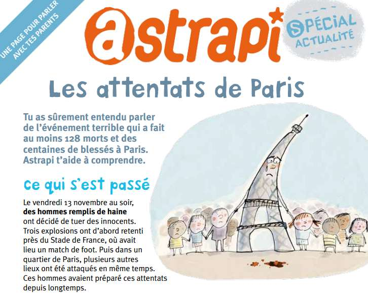 13 novembre expliqués aux enfants par Astrapi