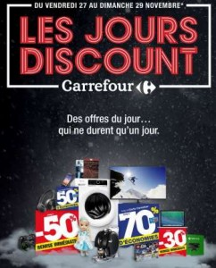 Black Friday – Les Jours Discount Carrefour 2015