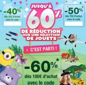 Bon plan Jouets Auchan