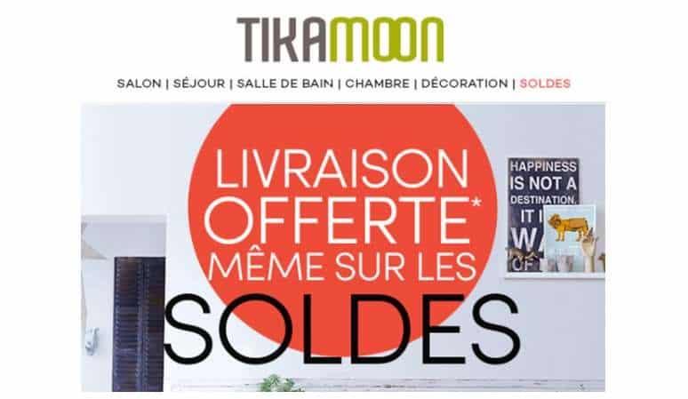 Bon plan Mobilier et Deco livraison gratuite sur Tikamoon