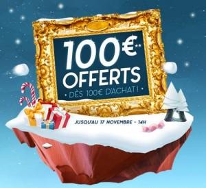 Cdiscount 100 euros offerts