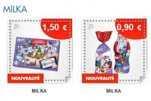 Coupon de reduction Calendrier de l'avent Milka