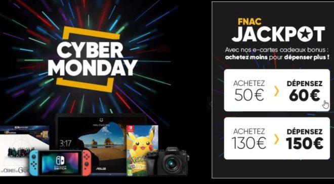 Cyber Monday FNAC