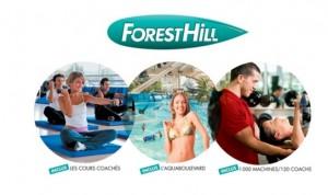 clubs Forest Hill + Aquaboulevard illimite 1 an sur Groupon