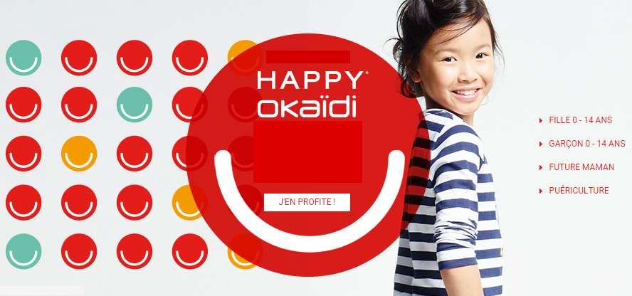 Okaidi happy prices et mini prix sur la mode enfant - Livraison gratuite vert baudet ...