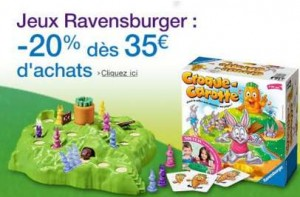Promotion jeux Ravensburger