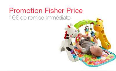 Remise Fisher Price