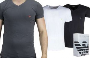 T-shirts Emporio Armani en promo