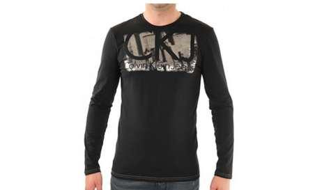 Et voila un nouveau bon plan t shirt calvin les - Tee shirt manche longue calvin klein ...