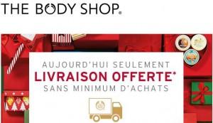 The Body Shop: livraison gratuite