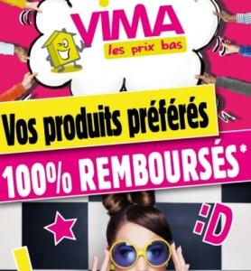 VIMA 100 pourcent rembourses
