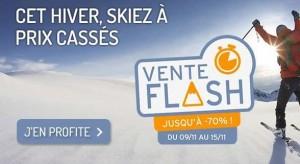 Vente flash séjours au ski